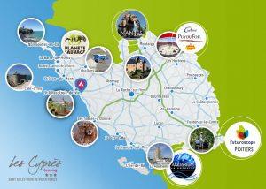 Carte Vendée