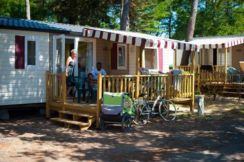 Des locations en mobil home confortable sur notre camping à Saint Gilles Croix de Vie