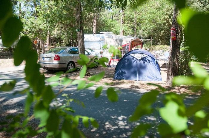Emplacement tentes au camping à Saint Gilles Croix de Vie