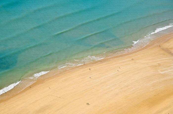bord de mer, plage de Saint Gilles Croix de Vie