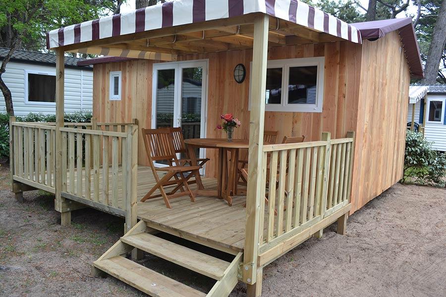 location confortable au camping en Vendée