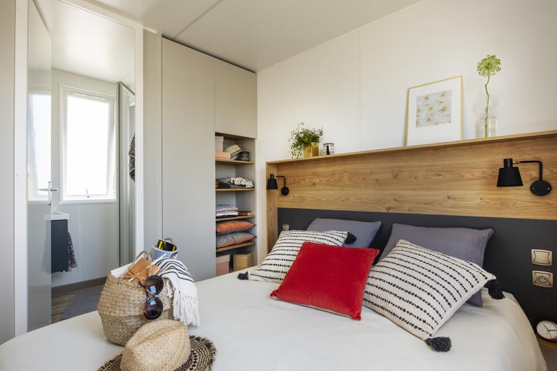 mobil home moderne au camping à Saint Gilles Croix de Vie