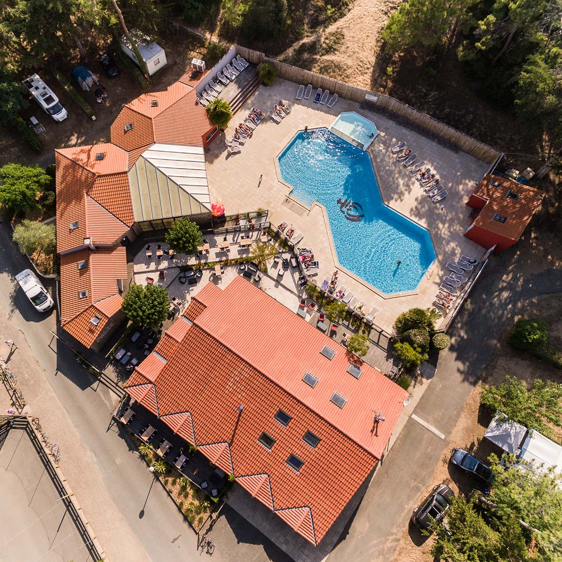 location mobil home au camping avec piscine
