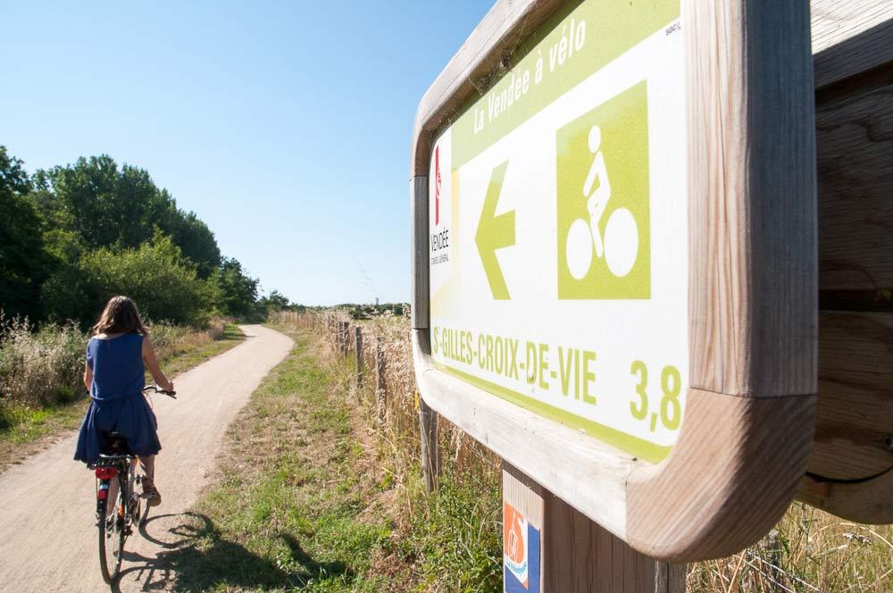 camping proche pistes cyclables Vendée