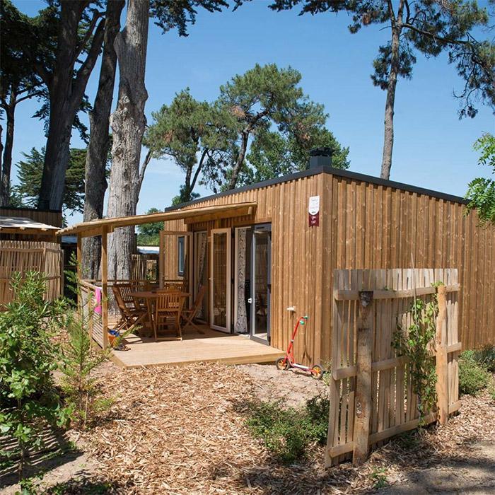 camping haut de gamme en bord de mer en Vendée