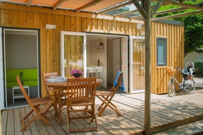 hébergement premium camping avec piscine Saint Gilles Croix de Vie